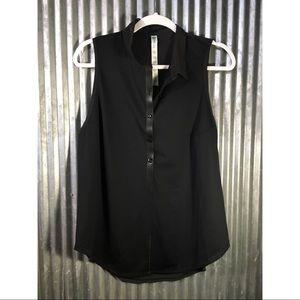 Lululemon Black Tank Top Size 12
